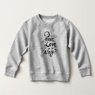 """Peace Love Joy"" Christmas - Xmas gifts Sweatshirt"
