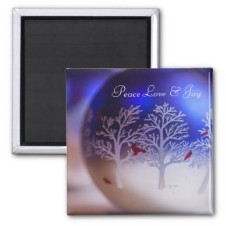 Peace Love & Joy Magnet