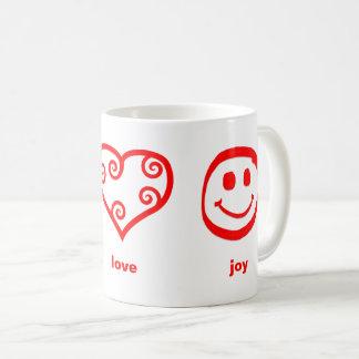 Peace Love Joy - Mug