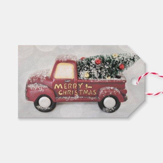 Peace Love & Joy Toy Truck Merry Christmas