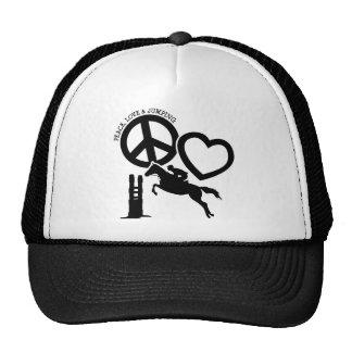 PEACE-LOVE-JUMPING CAP