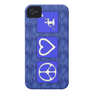 Peace Love Kayaking iPhone 4 Case