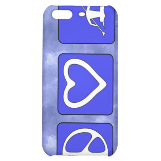 Peace Love Kayaking iPhone 5C Covers