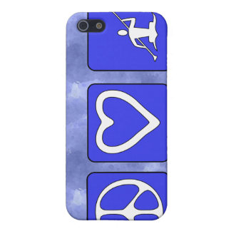 Peace Love Kayaking iPhone 5 Cover