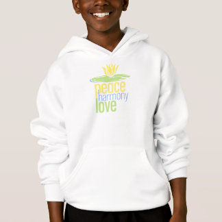 Peace Love Kids Hooded Sweatshirt