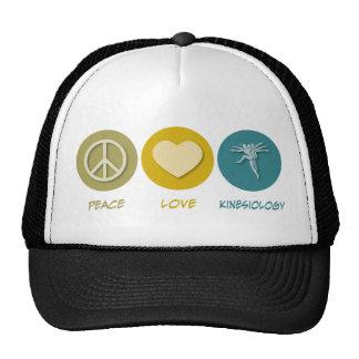 Peace Love Kinesiology Trucker Hat