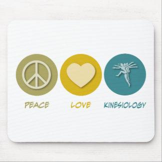Peace Love Kinesiology Mouse Pad