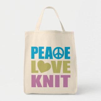 Peace Love Knit