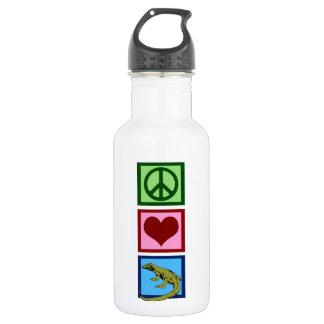 Peace Love Komodo Dragons 532 Ml Water Bottle