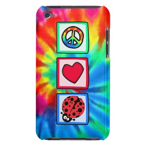 Peace, Love, Ladybugs Barely There iPod Covers