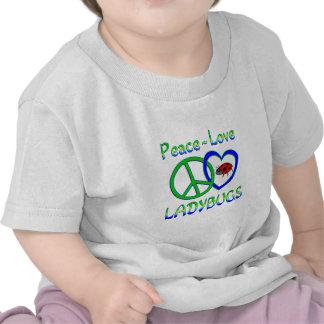 Peace Love Ladybugs T-shirt