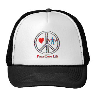 Peace Love Lift Hat