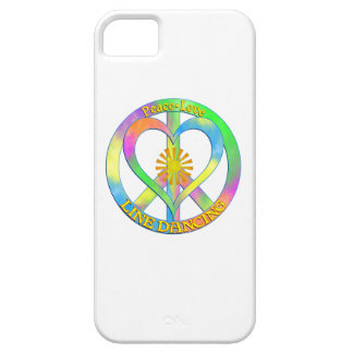 Peace Love Line Dancing Barely There iPhone 5 Case