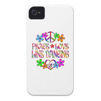 Peace Love Line Dancing iPhone 4 Case