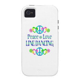 Peace Love Line Dancing Case-Mate iPhone 4 Covers
