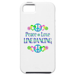 Peace Love Line Dancing iPhone 5 Cover