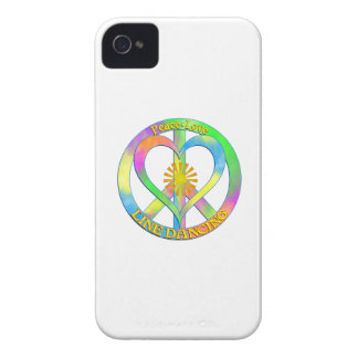 Peace Love Line Dancing iPhone 4 Cover
