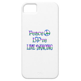 Peace Love Line Dancing iPhone 5 Cases