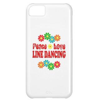 Peace Love Line Dancing iPhone 5C Case