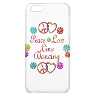 PEACE LOVE LINE DANCING iPhone 5C COVERS