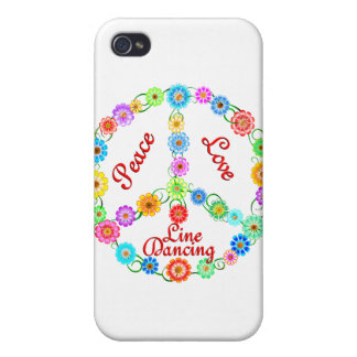 Peace Love Line Dancing iPhone 4/4S Cover