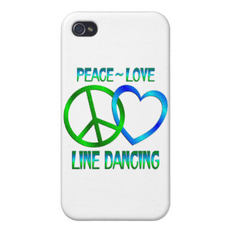 Peace Love LINE DANCING Covers For iPhone 4