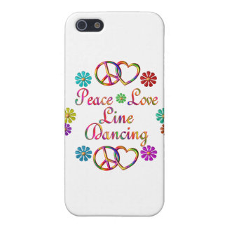 PEACE LOVE LINE DANCING COVERS FOR iPhone 5