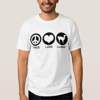 Peace love Llamas Shirt
