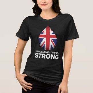 Peace. Love. London. Strong T-Shirt
