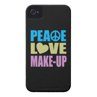 Peace Love Make-Up Case-Mate iPhone 4 Case
