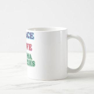 Peace-Love-Mama-Grizzlies Coffee Mug
