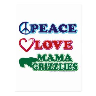 Peace-Love-Mama-Grizzlies Postcard