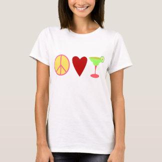 Peace, Love, Margarita T-Shirt