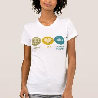 Peace Love Marine Biology T-Shirt