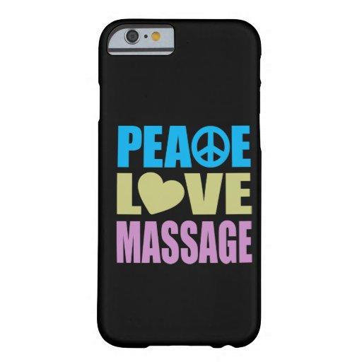 Peace Love Massage iPhone 6 Case