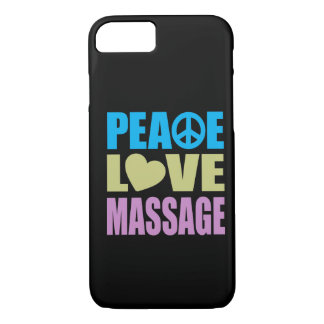 Peace Love Massage iPhone 7 Case