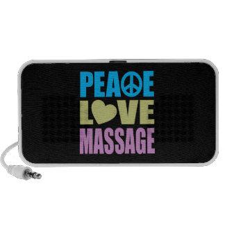 Peace Love Massage iPhone Speaker