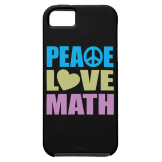 Peace Love Math iPhone 5 Case
