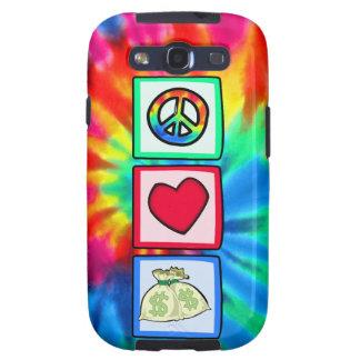 Peace, Love, Money Galaxy SIII Covers