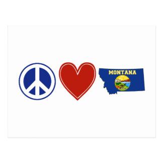 Peace Love Montana Post Card