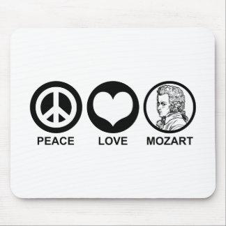 Peace Love Mozart Mouse Pad