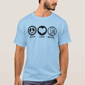 Peace Love Mozart T-Shirt