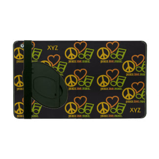 Peace Love Music custom cases