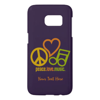 Peace Love Music custom cases