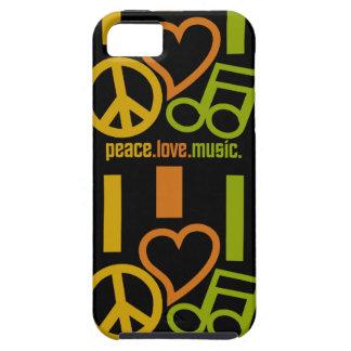 Peace - Love - Music iPhone 5 Case-Mate