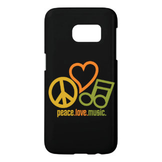 Peace Love Music phone cases