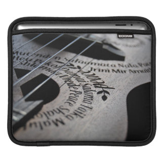 Peace Love & Music | Premium iPad Sleeve
