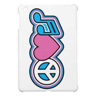 PEACE LOVE MUSIC Symbols Case For The iPad Mini