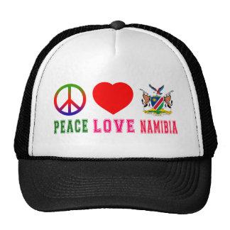 Peace Love Namibia Trucker Hats