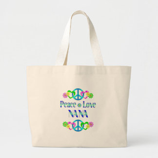 Peace Love Nana Tote Bag